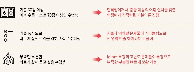 강수정 선생님 수업 특징 설명