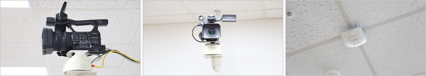 광대역 무선망 구축 (기가바이트급) & 고해상도 카메라 설치 이미지