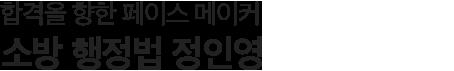 소방행정법 정인영