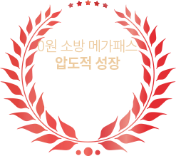 0원 소방 메가패스 압도적 성장 1,881%