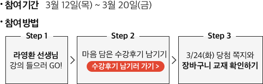 [기본] 2021 라영환 한국사:적자생존