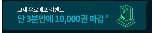 단 3분만에 10,000권 마감! (1)