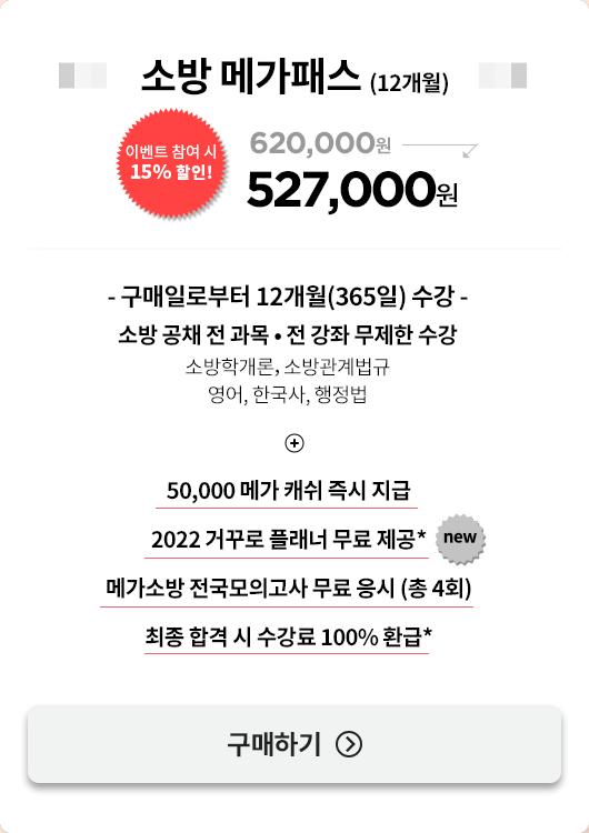 소방 메가패스 (13개월)